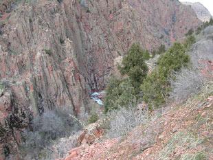 Скальные стены Каттасая