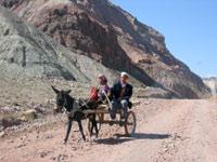 Высокогорная дорога через перевал
