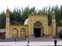 Ид Ках, крупнейшая по площади мечеть Китая