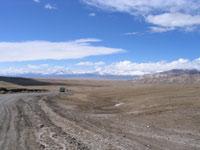Дорога на Торугартский перевал