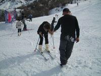Зимний отдых в горах Узбекистана